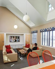 The Lounge Can Be Use For Quiet Meetings Or Watching TV Without Disturbing Open