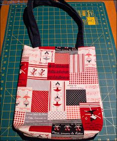 paws & re-thread: tutorial: sew a tote bag