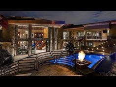 Contemporary Modern Mega Mansion in Paradise Valley Arizona Designed for a Resort Style Living This Modern Style Home Is Located at: 5335 N Invergordon Rd