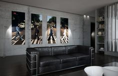 High-tech Apartment in St. Petersburg by AlexLoft | HomeAdore