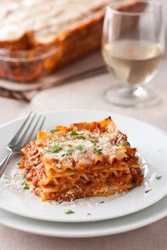 Lasagna...Nonna's recipe @ http://www.venice-italy-veneto.com/homemade-lasagna.html