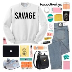 savage by novalikarida liked on polyvore featuring cheap monday new balance classics