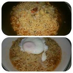 レシピとお料理がひらめくSnapDish - 7件のもぐもぐ - Ramen kimchi ala me by Susi Barus
