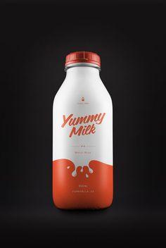 Yummy Milk by Simon Spring