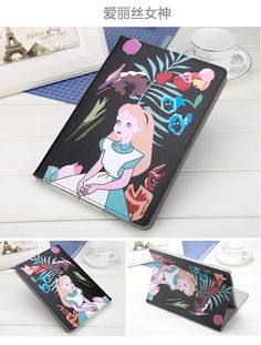 Case with cartoon girl for