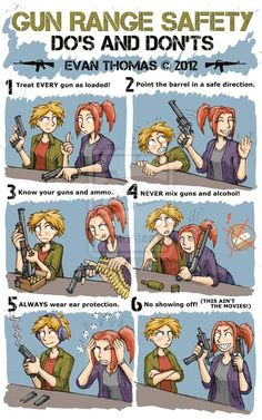 Gun Range Safety - with pictures :)