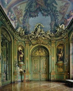 Regence style Gold room, Banque de France, former hotel particulier of Comte de Toulouse - Paris