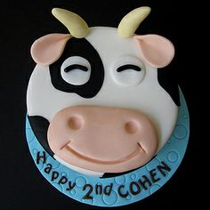Easy Cow Cake Design : 1000+ ideas about Cow Cakes on Pinterest Cow Cupcakes ...