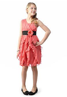 Sequin Hearts Ruffle Body Dress Girls 7-16  37 at Belk.com Columbia cdc28fa98bc7