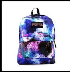 Galixy backpack I want this!!!! I just realised I want lot of things! Huh