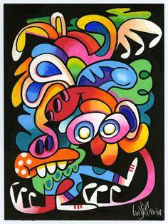 December 2015 works | Jon Burgerman Art Lessons, Embellishments, Pop Art, It Works, December, Illustration Art, Doodles, Artsy, Animation