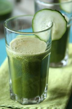 Green Flu-Fighter Juice.