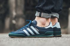 "adidas Jeans Valencia ""Easy Blue/Mystic Green"" - EU Kicks Sneaker Magazine"