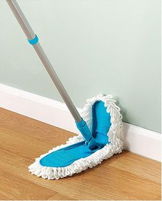 Flexible Mop  Not only does this Microfiber Flexible Mop ($16, amazon.com) work when both wet and dry, but the head bends and swivels to help you reach difficult spots, like corners.