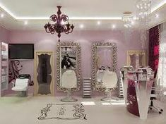 Interior Design With A Curved Ceiling Even In The Drawer Beautiful Kitchen Fortable Beauty Salon Burgundy Ideas Room