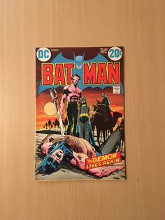 Classic Neal Adams Cover, Ra's Al Ghul and Talia Al Ghul Appearance. Batman CGC Off-White to White Pages. DC Comics, Comics are protected using combinations of cardboard, bubble wrap and boxes depending on the number of comics in the order. Batman Comics, Dc Comics, Ras Al Ghul, Talia Al Ghul, Bronze Age, Handmade Gifts, Cover, Classic, Etsy