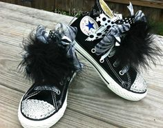Customized Bling Converse by SassySolesShoetique on Etsy, $50.00 Bling Converse, Kids Converse, Diy Fashion, Fashion Ideas, Hippie Chick, Diamond Heart, Hippy, Baby Dress, Girls Shoes