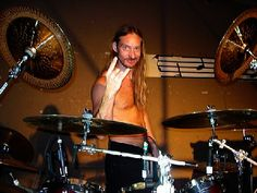 Steve Asheim of Order of Ennead is also the main drum manmachine for the mighty Deicide!