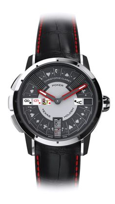 POKER | Gaming Watches | Collections | Christophe Claret
