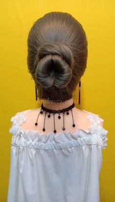 30 Braids Hairstyle Video Ideas Different Meatball head hairstyle Ponytail Hairstyles, Girl Hairstyles, Wedding Hairstyles, Hairstyle Ideas, Hair Upstyles, Regrow Hair, Asian Hair, Bridesmaid Hair, Hair Videos