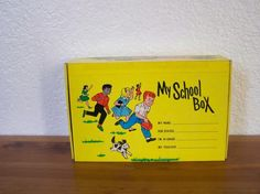 Vintage School box from the early 80's