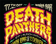"Check out this @Behance project: ""Death Panthers Poster"" https://www.behance.net/gallery/20463843/Death-Panthers-Poster"