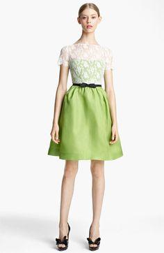 lace & organza dress / valentino