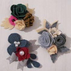 Broszki do zobaczenia na Dawanda lub na blogu #filc #broszka #broszki #komodapomyslow #handmade #diy #felt #feltidea #feltflower #flower Crochet Necklace, Band, Accessories, Jewelry, Sash, Jewlery, Jewerly, Schmuck, Jewels