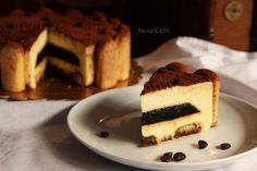 Torta Bavarese tiramisù,dolce dalla forma di una torta, la consistenza di una bavarese, il gusto sicuro e deciso del caffè con un cuore fresco di gelee ...
