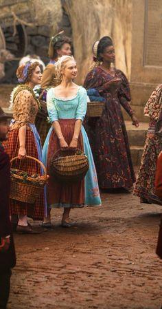 Lily James in Cinderella Cinderella 2015, Cinderella Movie, Cinderella Costume, Cinderella Live Action, Disney And Dreamworks, Disney Pixar, Walt Disney, Lily James, Disney Live