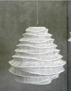 Roost Bamboo Cloud Chandeliers   Roost Hanging Lamps   Modish Store