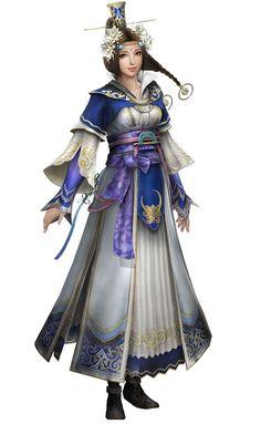 Dynasty Warriors 8 Cai Wenji Artwork