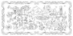 Enchanted Forest Coloring Book Pages - Bing Images