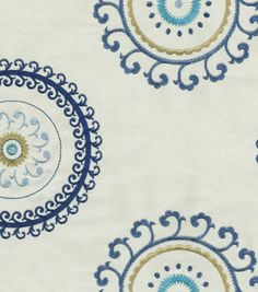 Upholstery Fabric Waverly Ottoman Ornament Aegean Upholstery Fabric At Joann Com