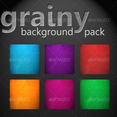 Buy Grainy Background Pack by meebits on GraphicRiver. A set of 6 backgrounds to use and modify for your designs. Inside the file: 1 PSD file (Made of of six background col. Grunge, Background Images Wallpapers, Game Assets, Background Templates, Wordpress Theme, Overlays, Colorful Backgrounds, Pink, Packing