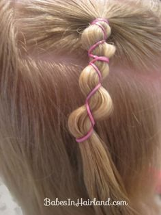 Rubber Band Wraps & Flipped Braids (5)