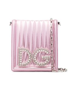 4ba1896cf605 Shop now Dolce   Gabbana DG Girls crossbody bag for at Farfetch UK.  Discover emerging and ground-breaking luxury brands.