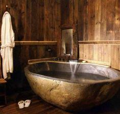 badewanne rustikal, 58 besten rustikales bad bilder auf pinterest in 2018 | bathroom, Design ideen