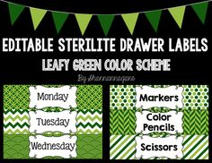 These labels are 2.5 inches by 10 inches and come in a variety of leafy green (aloe and pine) patterns - 23 total.You can spray paint the drawers to match your classroom decor!Fits drawer size: 13-1/2-by-10-7/8-by-9-5/8-InchI purchased a four-pack from Amazon for $36 using ($9 each) this linkDigital Paper to match here: HERE I suggest visiting KG Fonts for fonts you can download for free to use for these products.