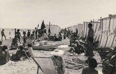 Spiaggia di Rimini, anni 70
