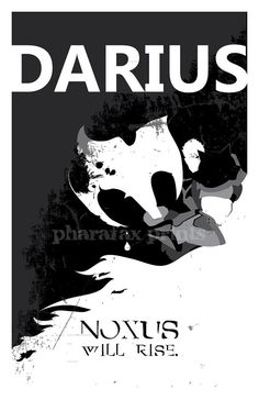 Darius League of Legends Print by pharafax on Etsy, $16.00