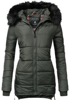 OTTO Damen Marikoo Winterjacke Sole modisch taillierte Damen Steppjacke für  den Winter braun   04059072262171 73803fcd8a