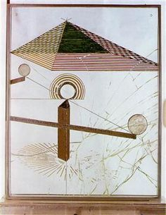 To Be Looked at (from the Other Side of the Glass) with One Eye, Close to, for Almost an Hour - Marcel Duchamp