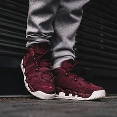 "he Nike Air More Uptempo '96 ""Maroon"""