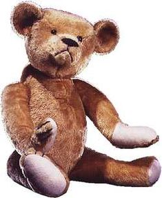 This is one of the first teddy bears ever made. Read about the teddy bear history here: http://j.mp/UVM85C