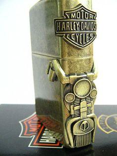 Harley Davidson side mount Zippo Lighter