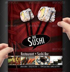23 Creative Restaurant Menu Templates (PSD & InDesign)