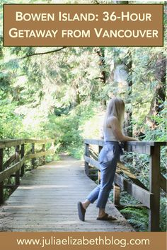 Known as both the Island of Hikes and one of Canada's most artistic communities, Bowen Island is a paradise for adventurers and creatives alike. Canada Travel, Canada Trip, Great Places, Places To Visit, Stuff To Do, Things To Do, Bowen Island, Whistler, Vancouver Island