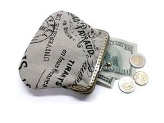 This coin purse is tiny but it opens widely. You can keep your small items like: Money, ID, Credit cards, keys, lipstick or whatever you want. This coin