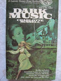 VINTAGE 1972 SUPER SIZE GOTHIC ROMANCE MYSTERY CHARLOTTE RUSSELL DARK MUSIC